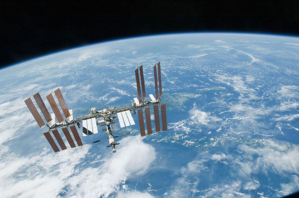 NASA bygger växthus på ISS