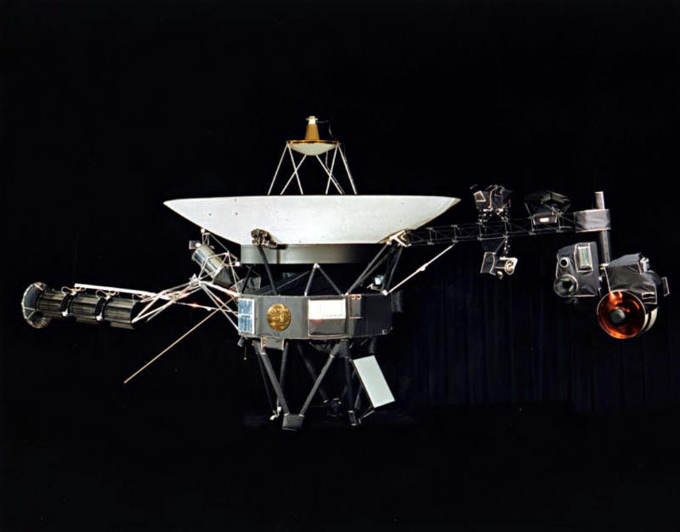 Nu har Voyager 1 nått den interstellära rymden