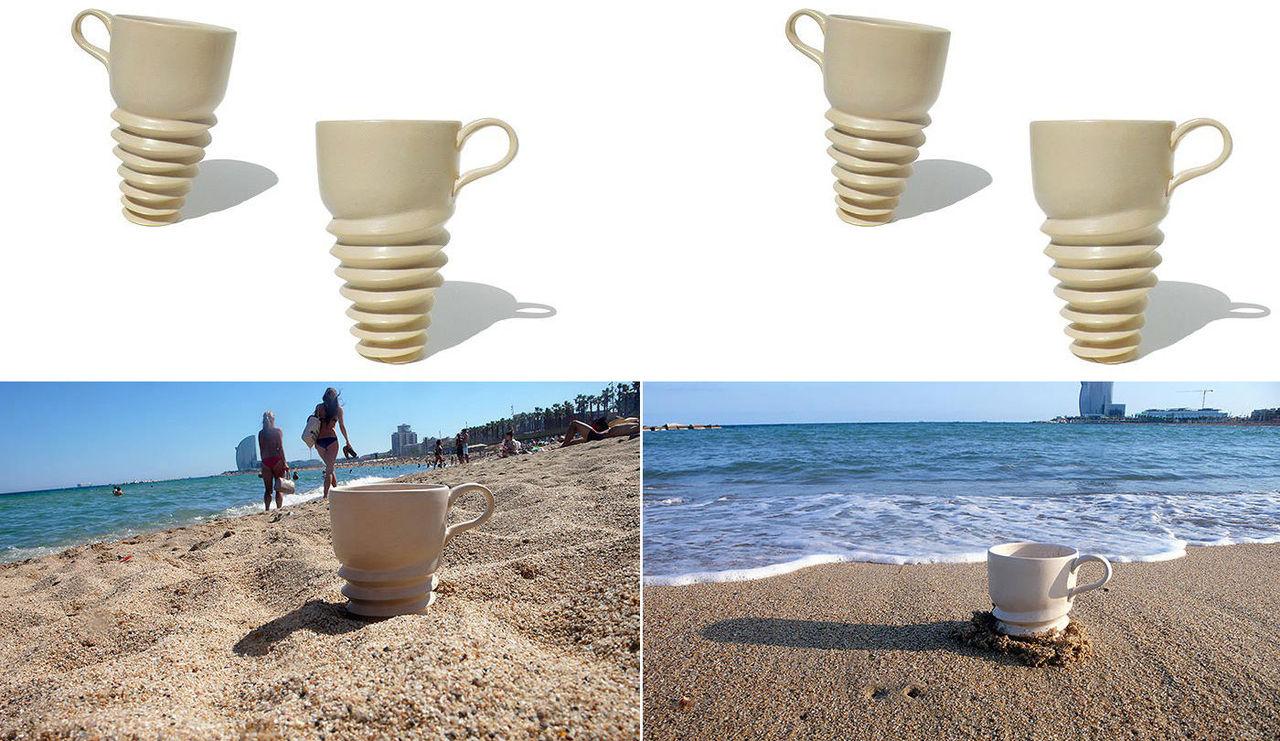 En kopp för stranden