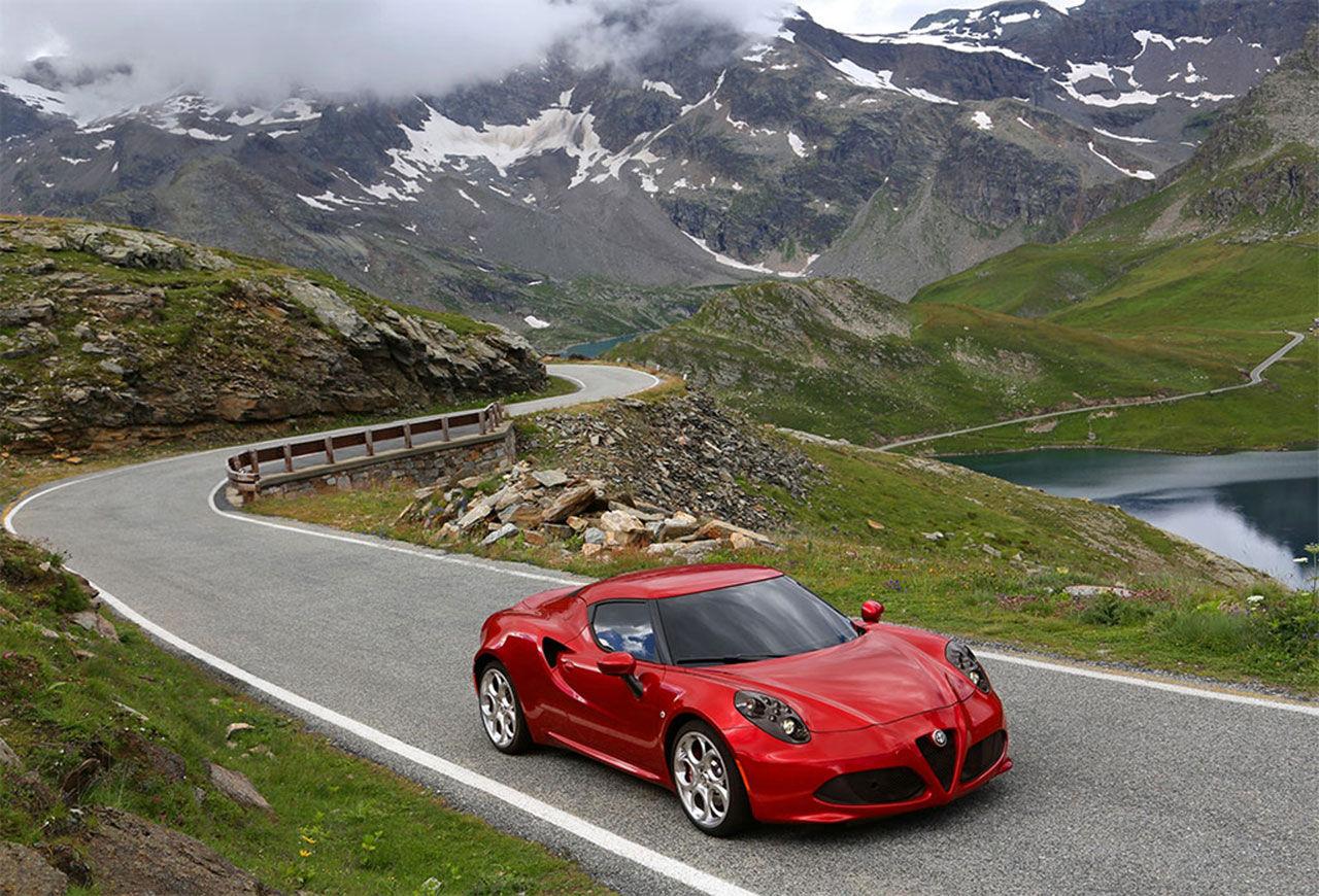 Allt om Alfa Romeo 4C