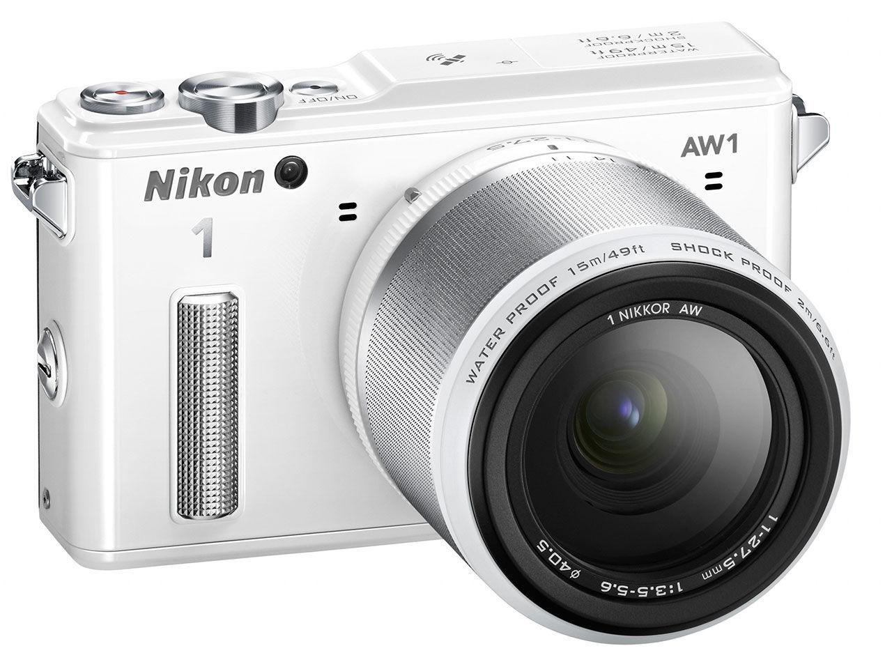 Nikon lanserar vattentät systemkamera