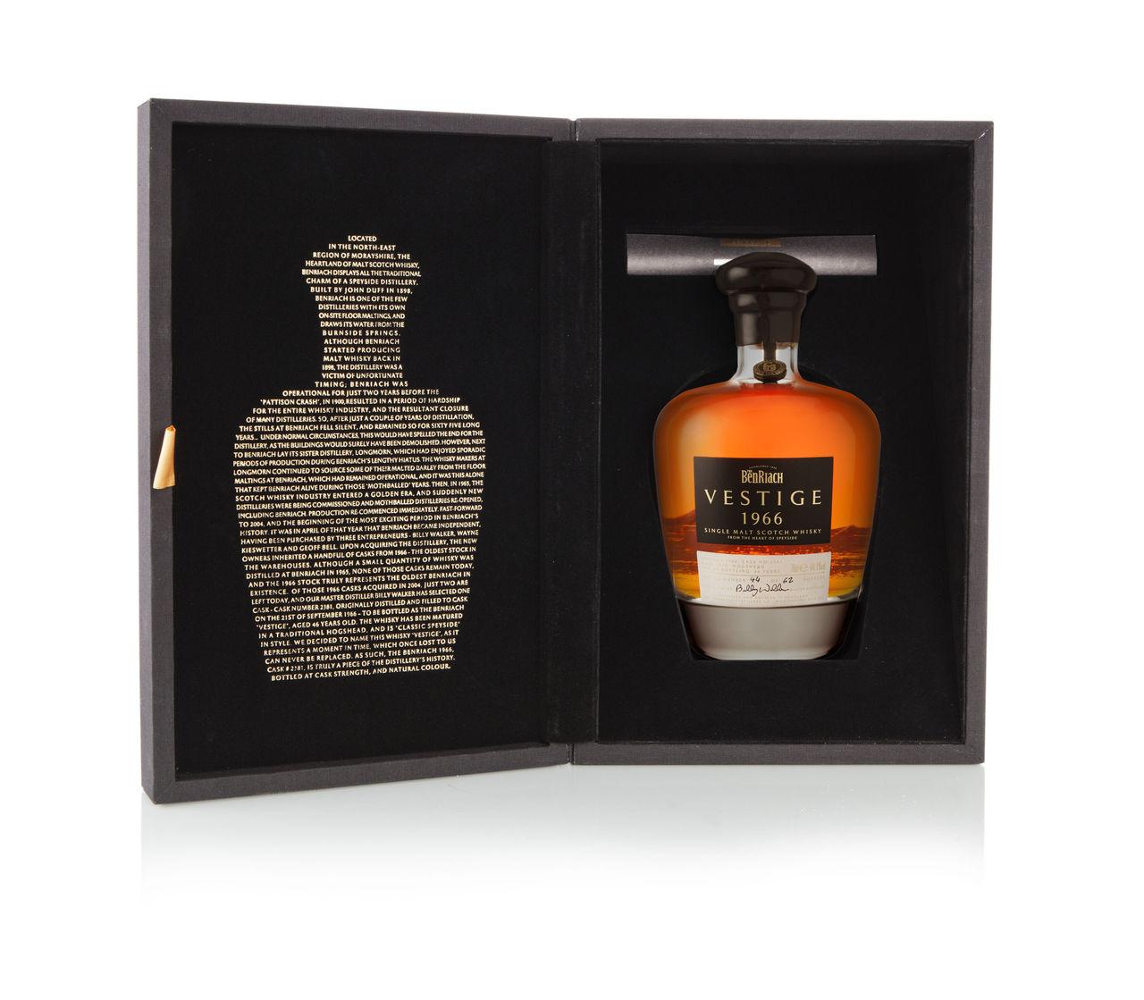 Benriach släpper whisky från 1966