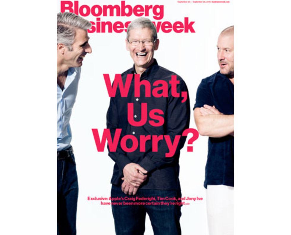 Lång intervju med Apple-bossar