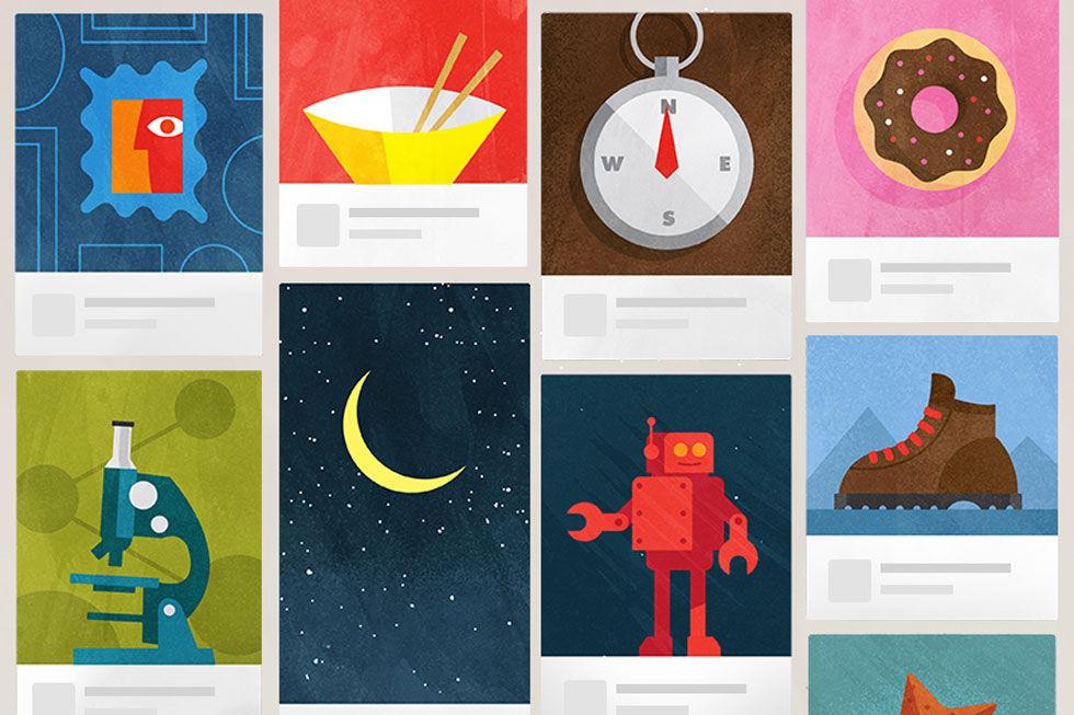 Pinterest börjar med annonser
