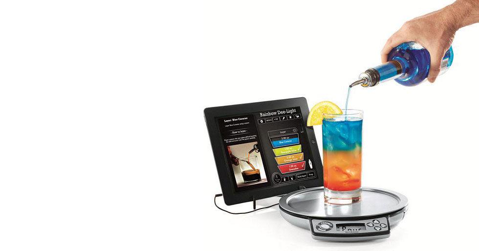 iPad-kompatibel drink-våg
