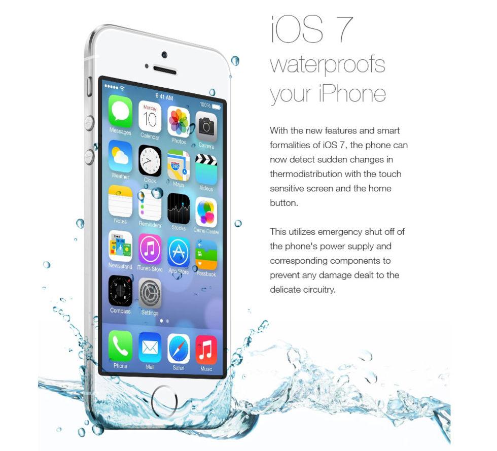 Iphone 7 vattentät