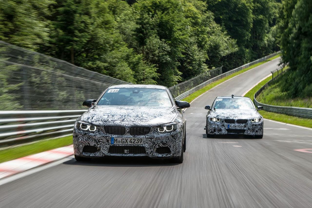 Nya BMW M3 och M4 får manuell låda som standard