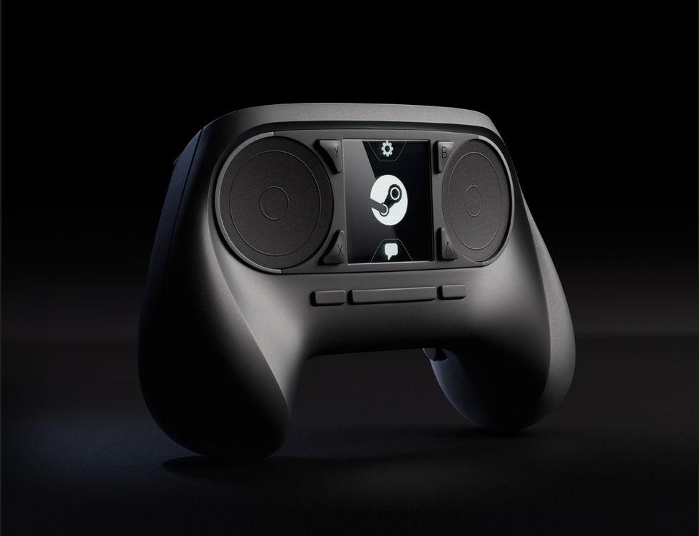 Valve avtäcker Steam Controller