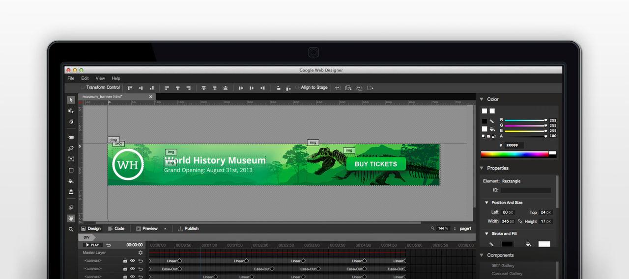 Google släpper verktyg för att skapa HTML5-banners