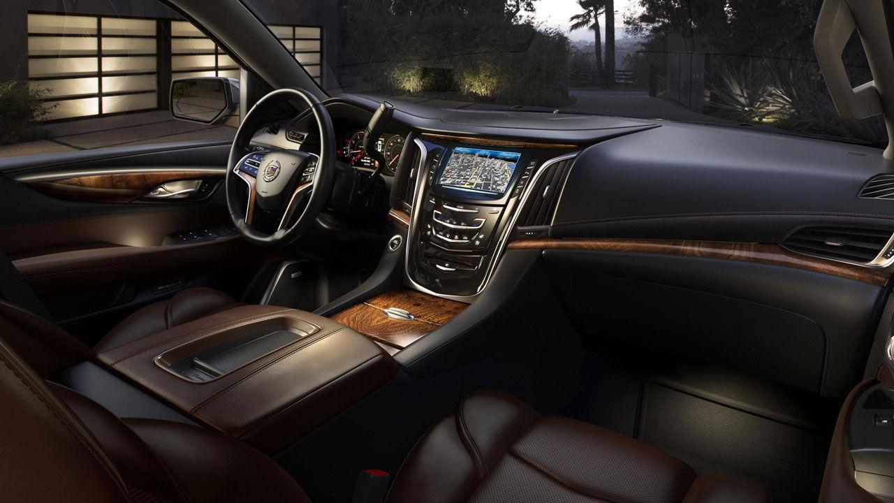 Insidan på nya Cadillac Escalade