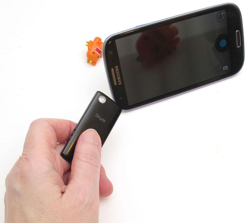 Trådlös utlösare till din telefon