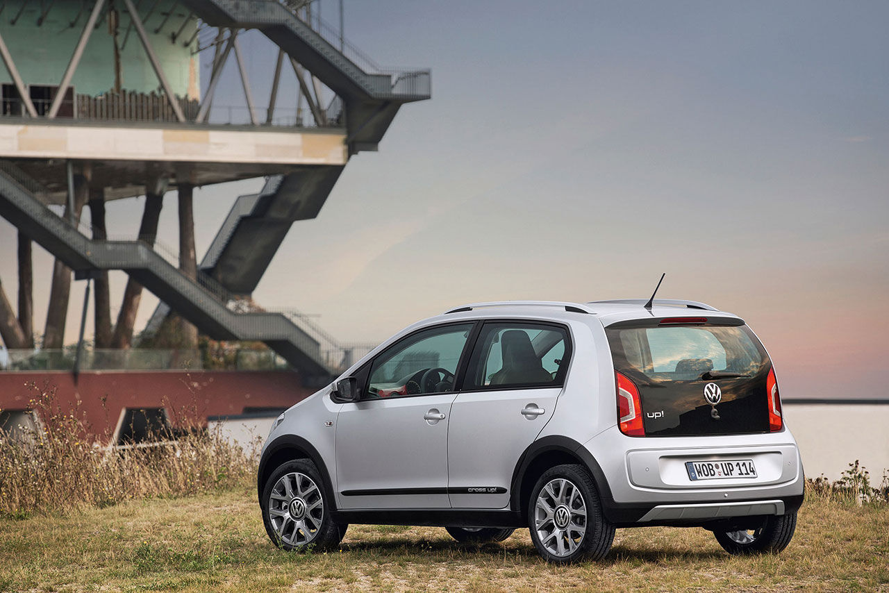 Volkswagen cross up! blir din för 133 900 kronor