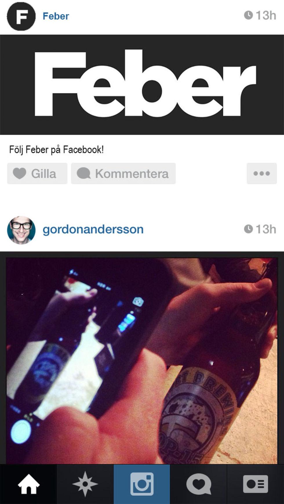 Instagram börjar med annonser
