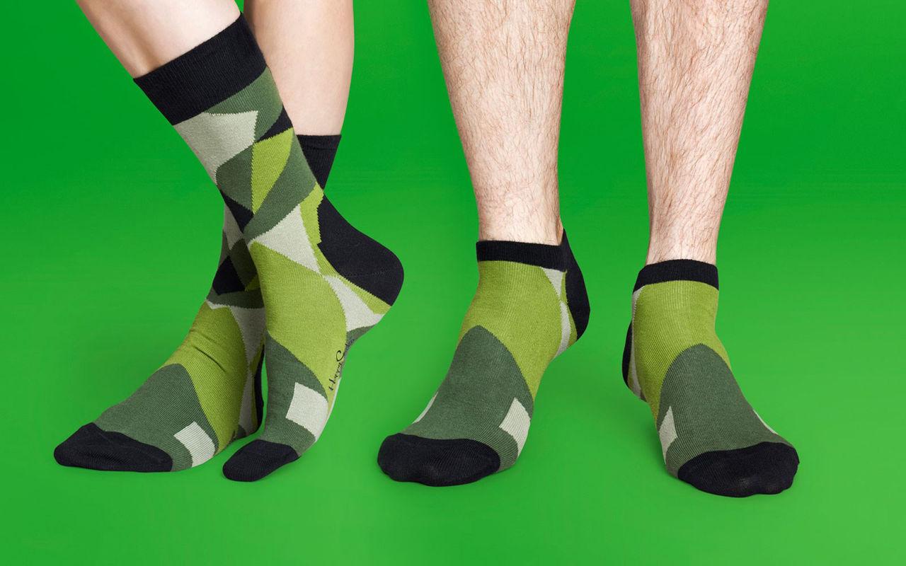 Happy Socks + Sneakersnstuff