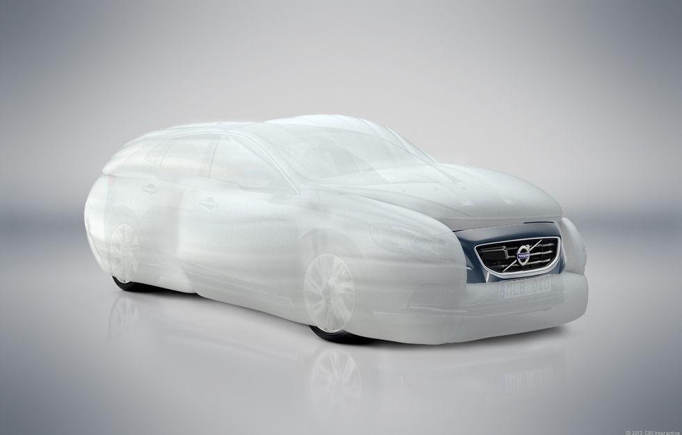 Airbags för utsidan är på väg