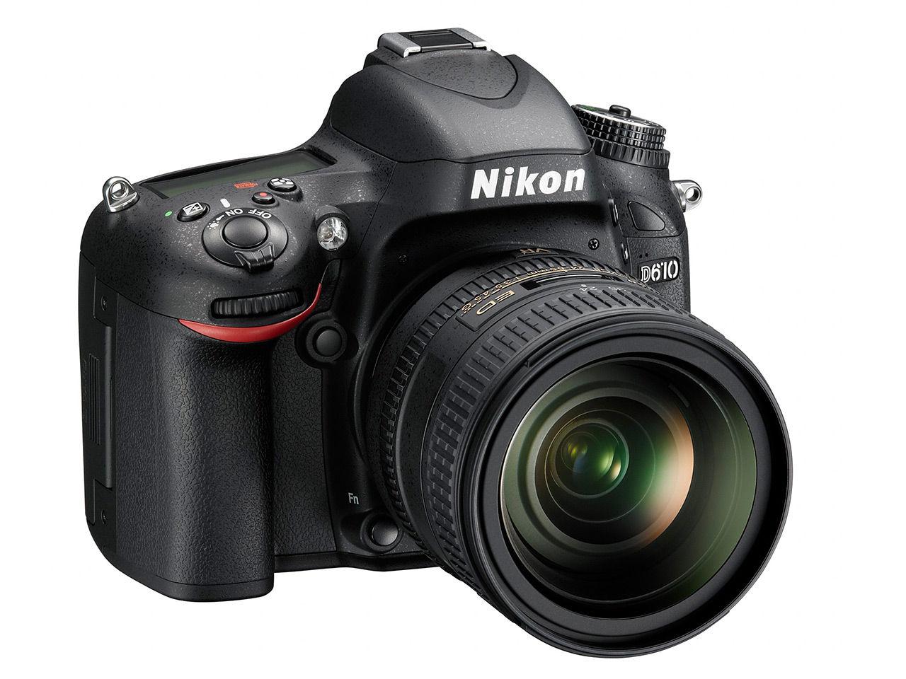 Nikon uppdaterar D600 till D610