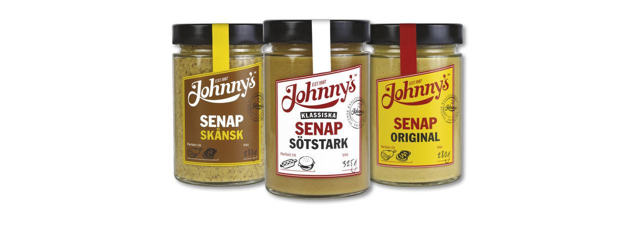 Johnnys Senap i juleskrud