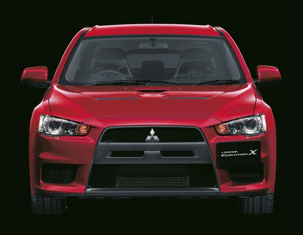 Helt officiellt officiell:  Mitsubishi Lancer Evolution X