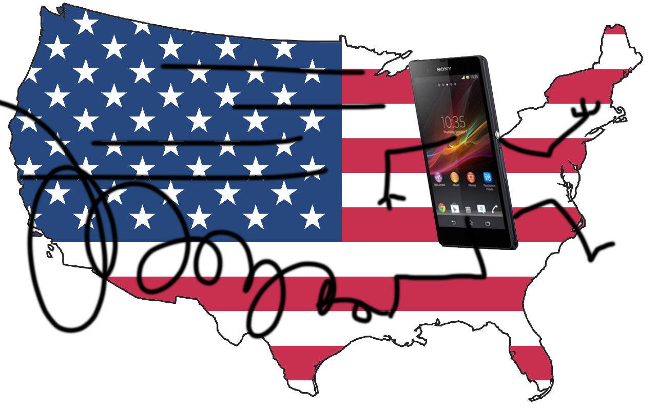 Sony Mobile lämnar USA
