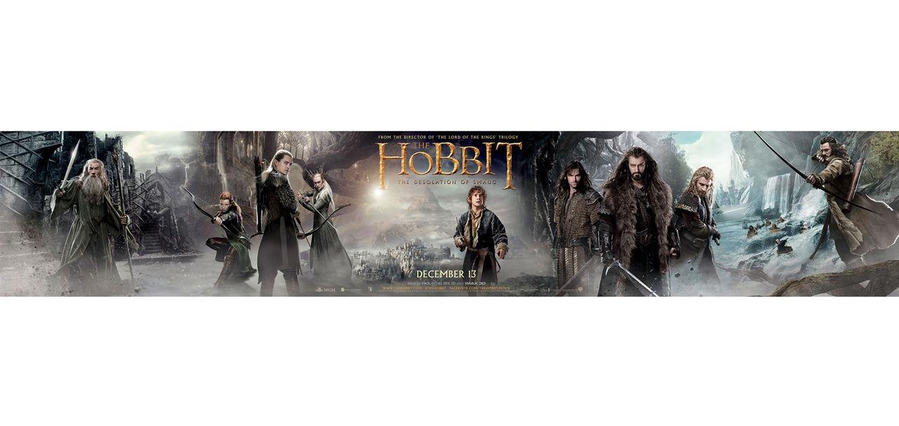 Banner för The Hobbit: The Desolation of Smaug