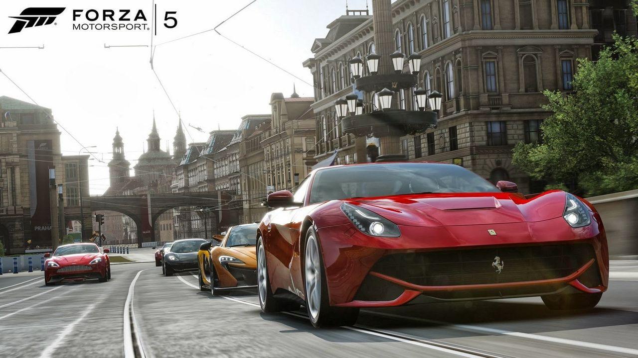 Bilarna i Forza 5