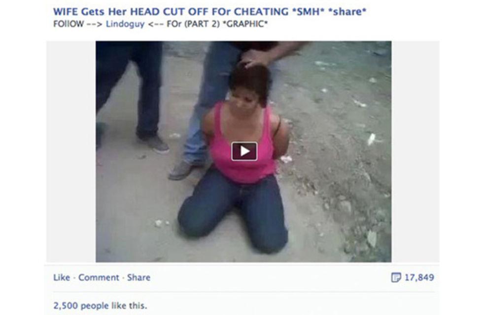 Facebook tillåter nu (vissa) vidriga videos