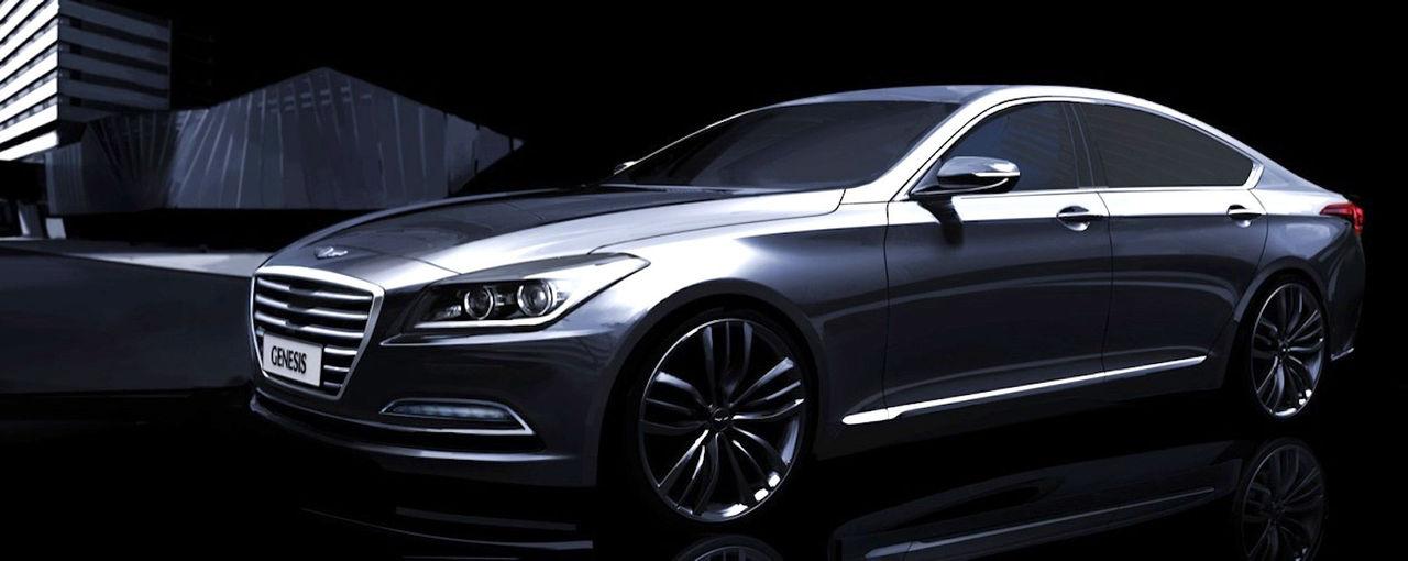 Hyundai visar upp nya Genesis