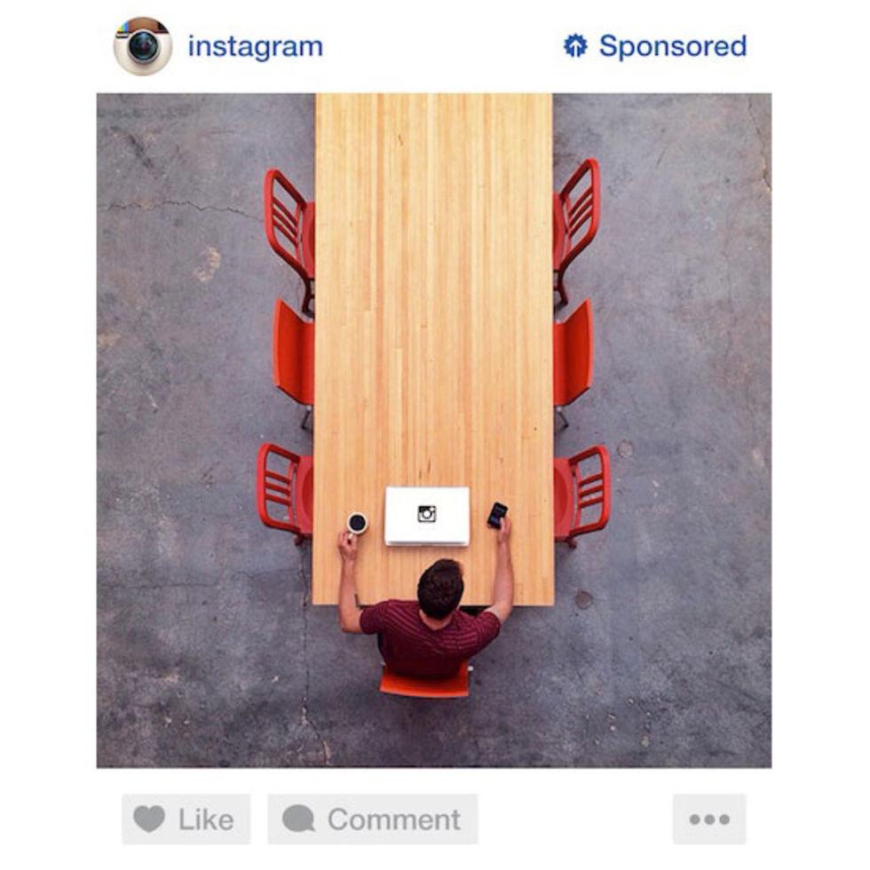 Så här kommer annonser på Instagram att se ut