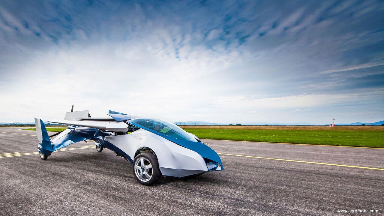 Ytterligare en bil som vill flyga