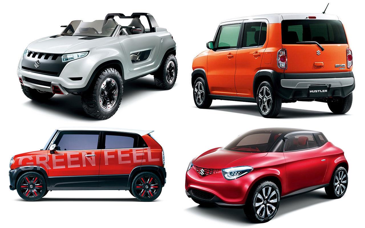 Roliga koncept från Suzuki
