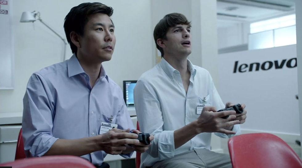 Ashton Kutcher blir produktutvecklare på Lenovo