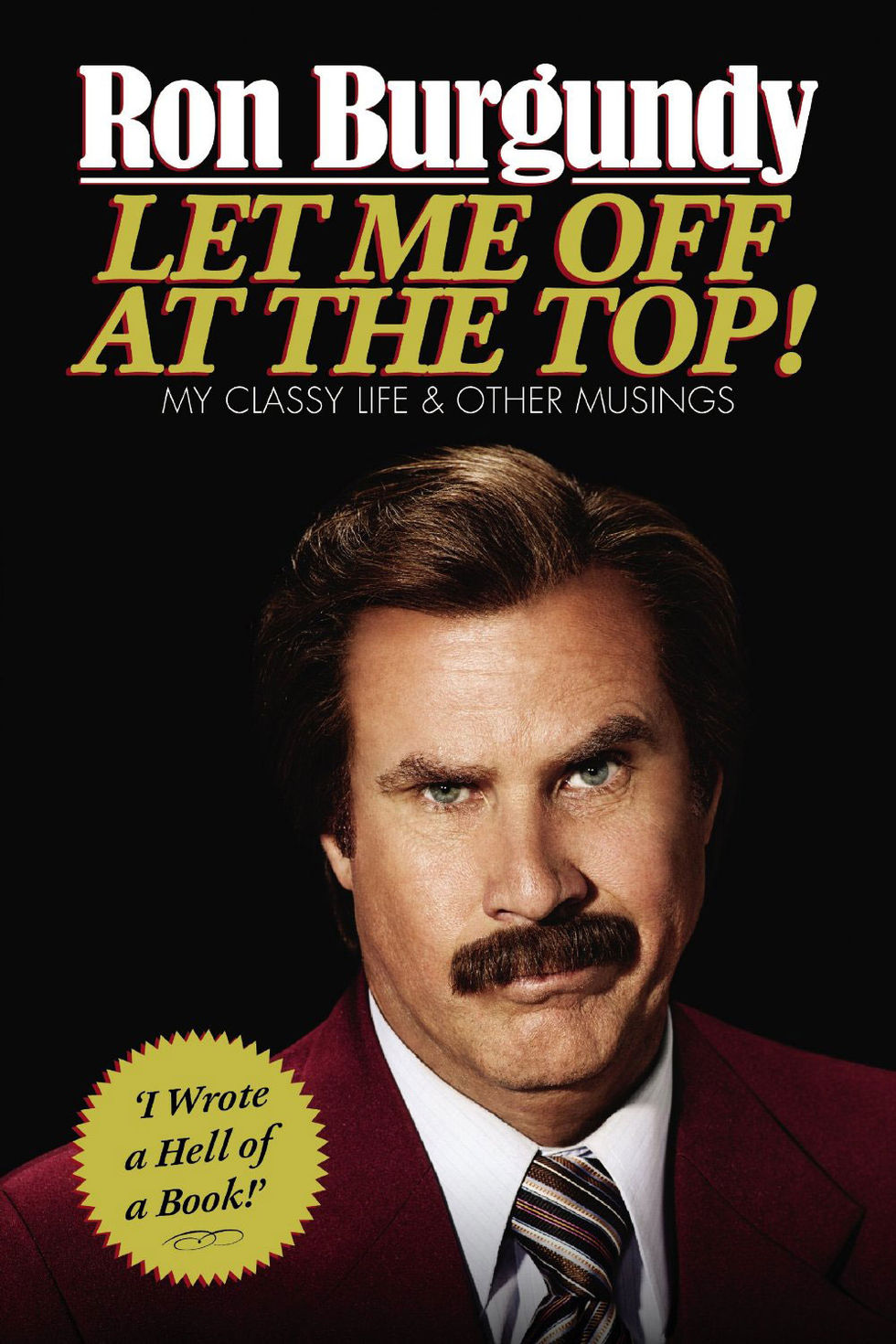 Ron Burgundy släpper bok