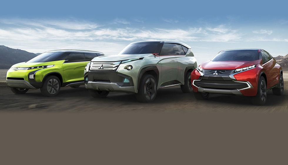 Mer om Mitsubishis nya konceptbilar