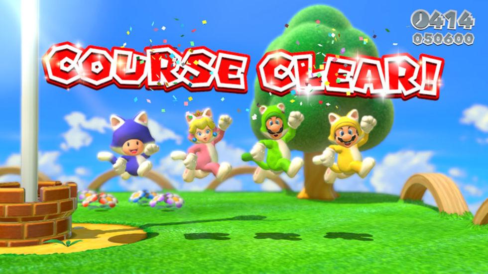 Inget DLC för Super Mario 3D World