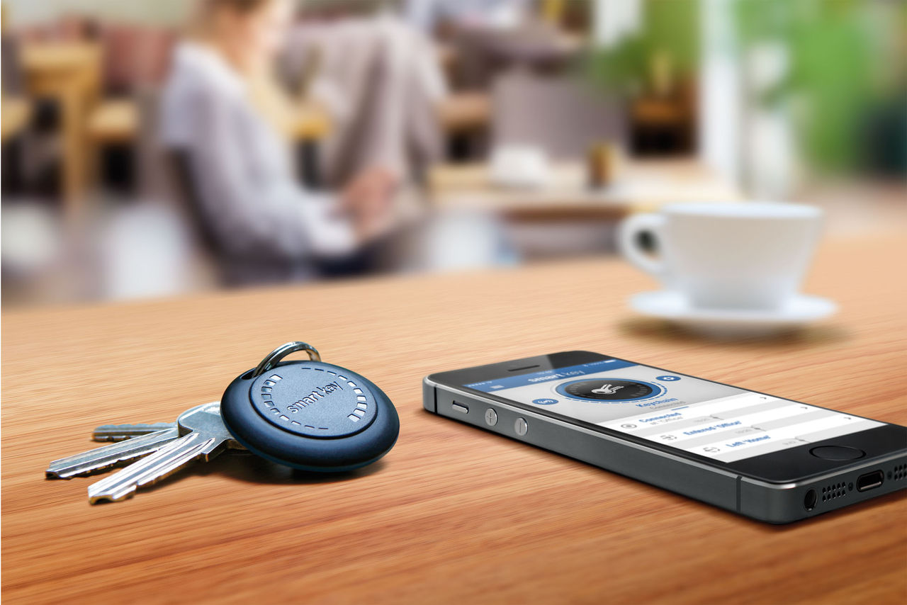 Nyckelring hjälper dig hålla koll på dina nycklar
