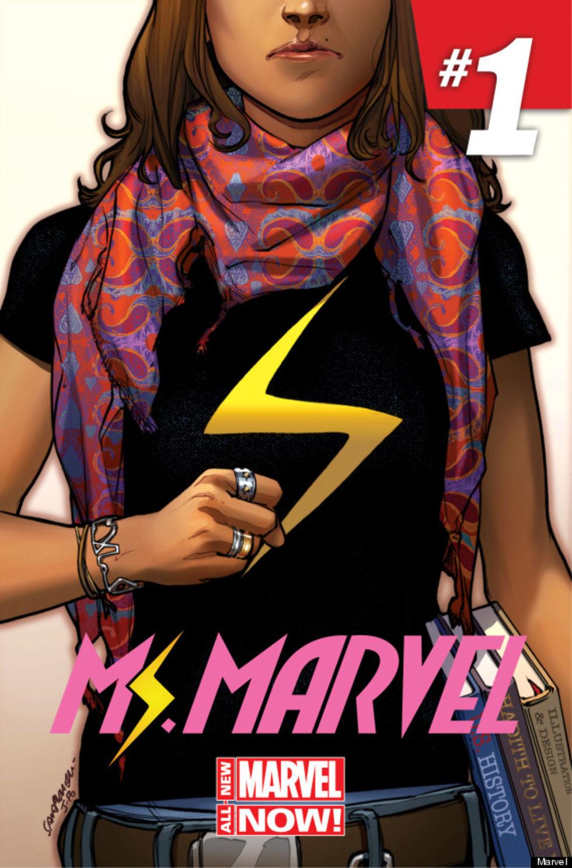 Ms. Marvel är en muslimsk superhjälte