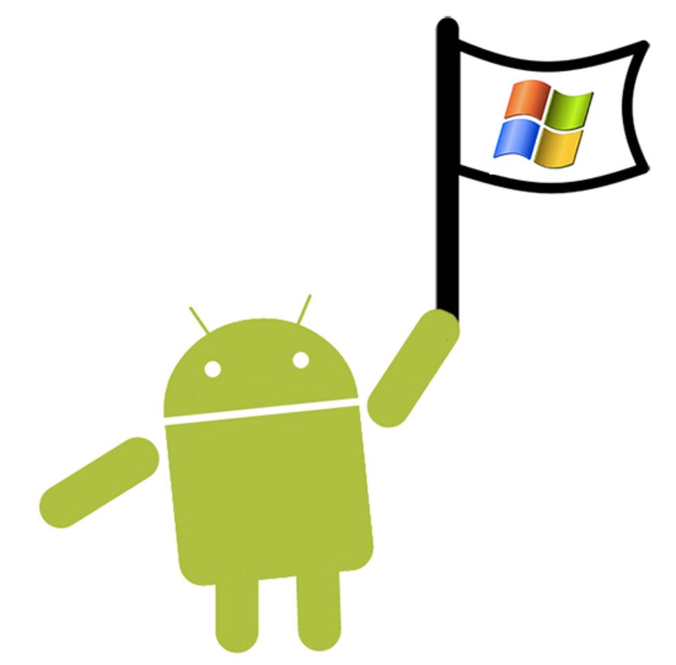 Microsoft tjänar 2 miljarder dollar om året på Android