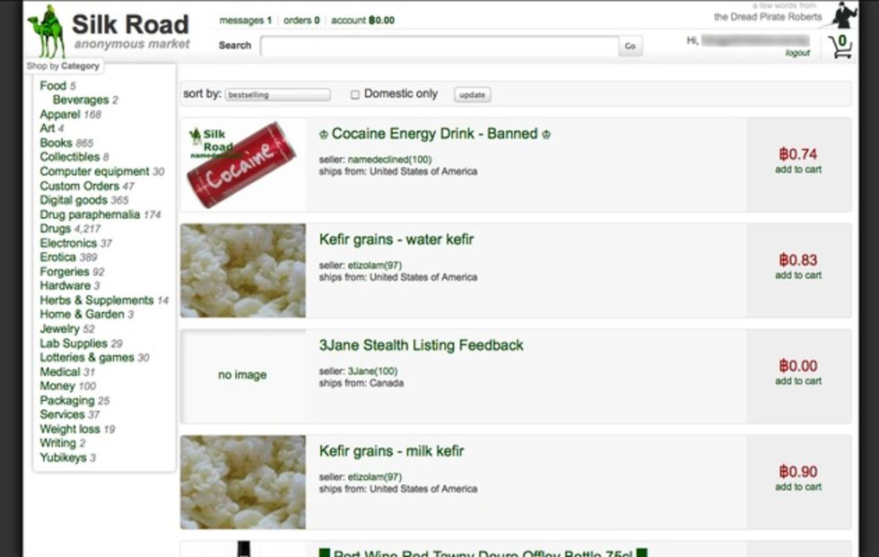 Silk Road tillbaka på nätet