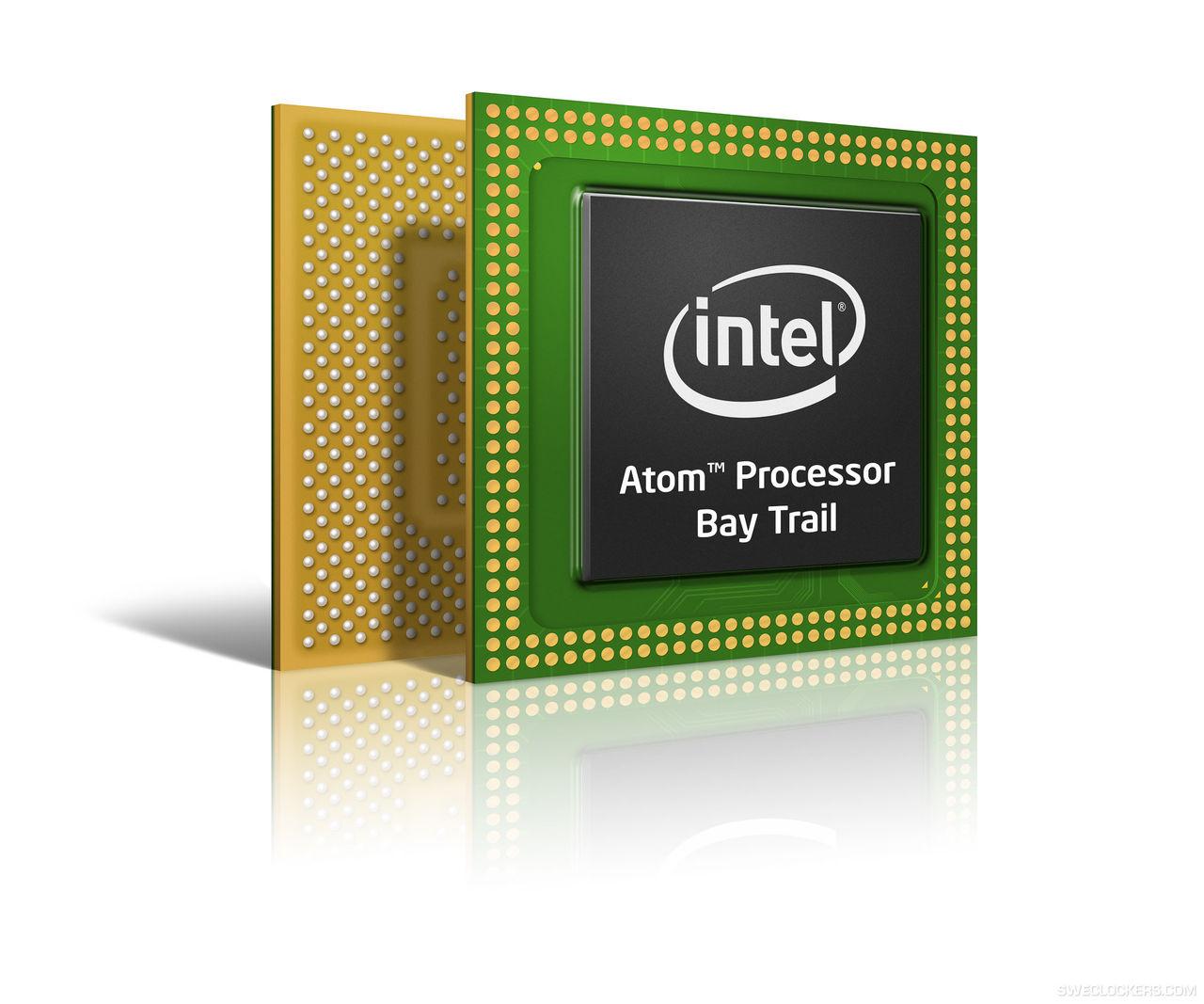 Intel släpper Bay Trail-M processorer