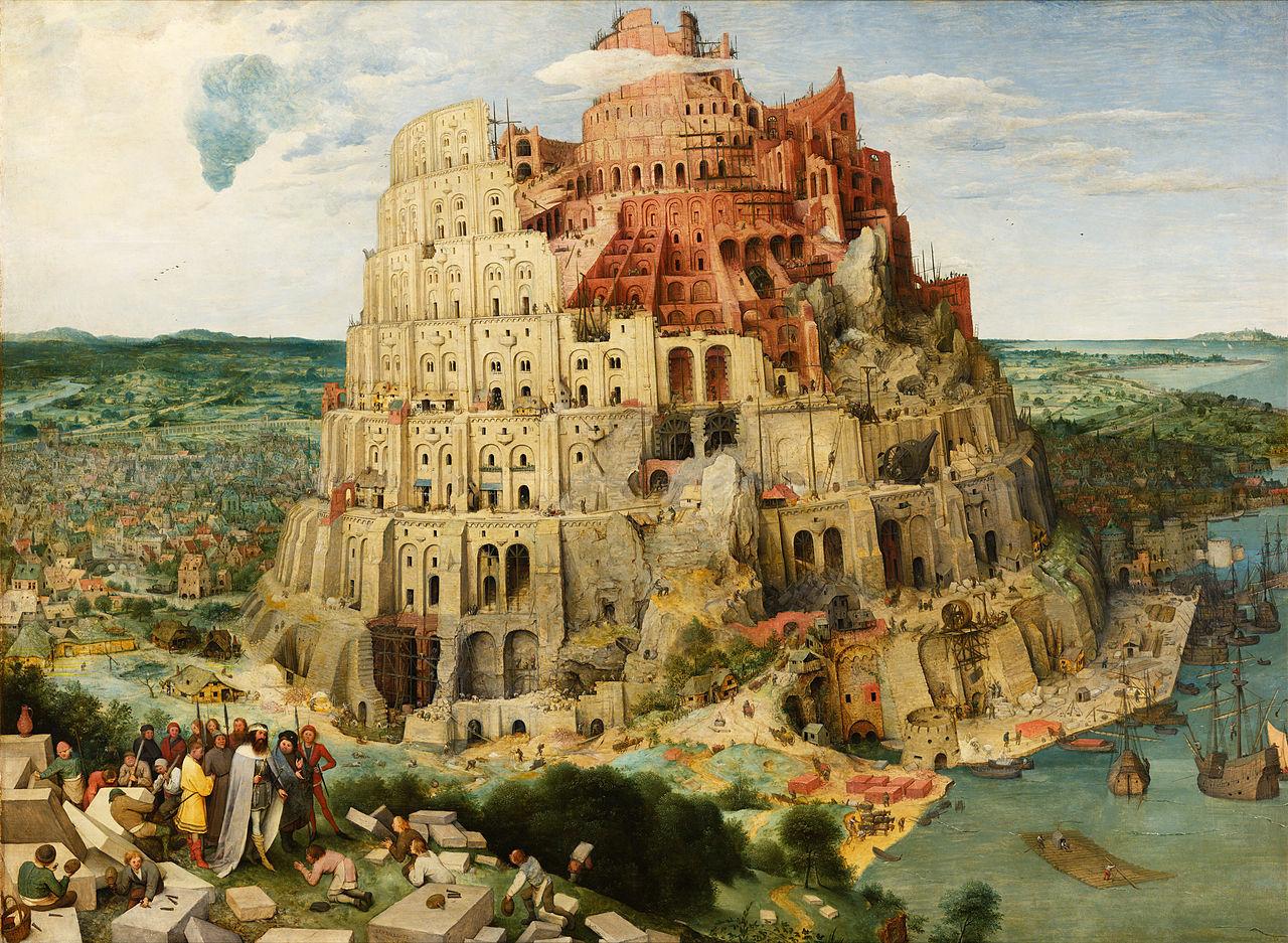 Snubbe vill bygga kopia av Babels Torn