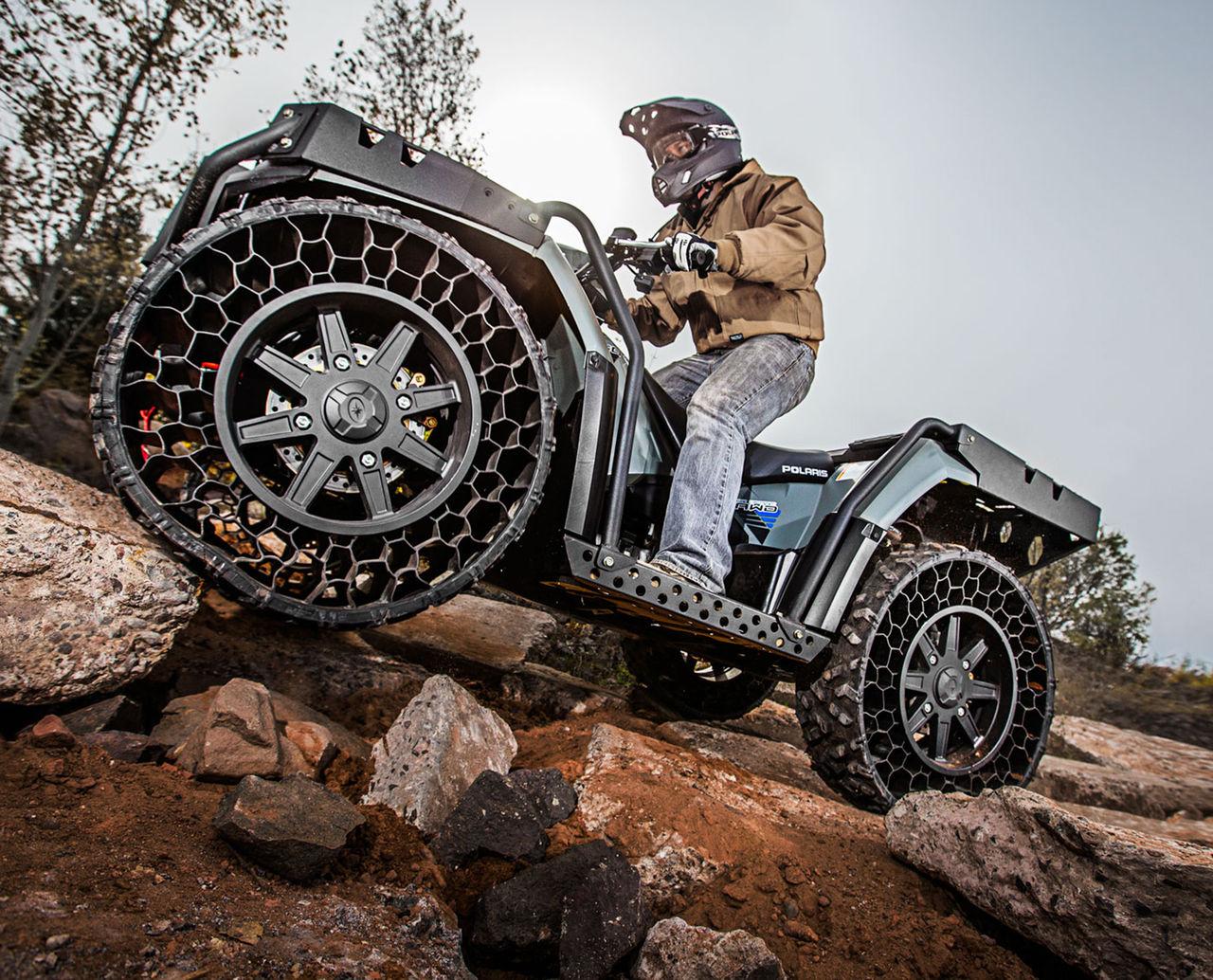 Nu kan du köpa en ATV med luftfria däck
