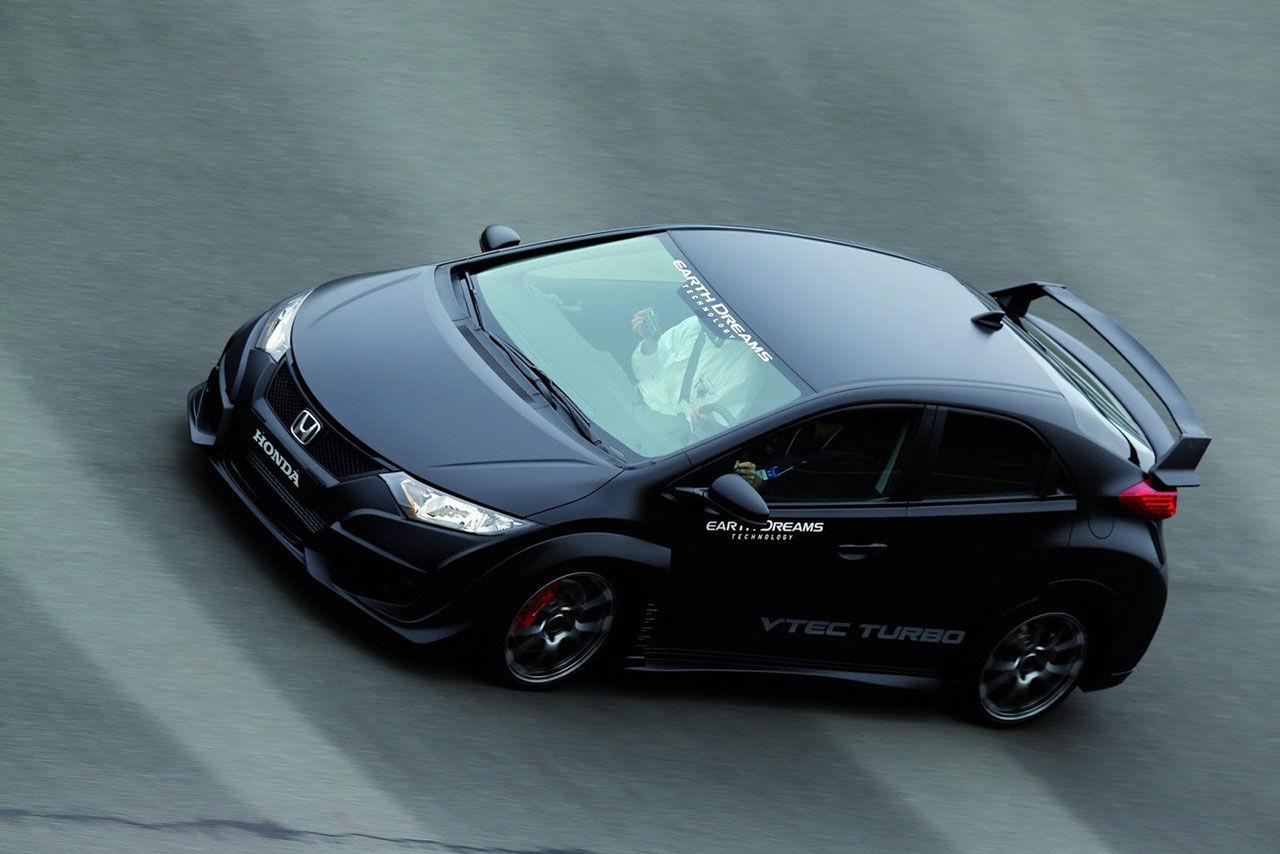 Honda visar upp Civic Type R Turbo
