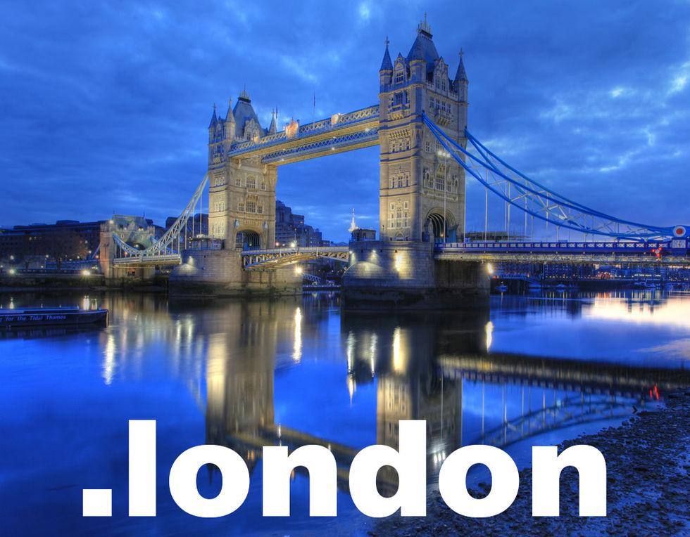 London får en egen topp-domän