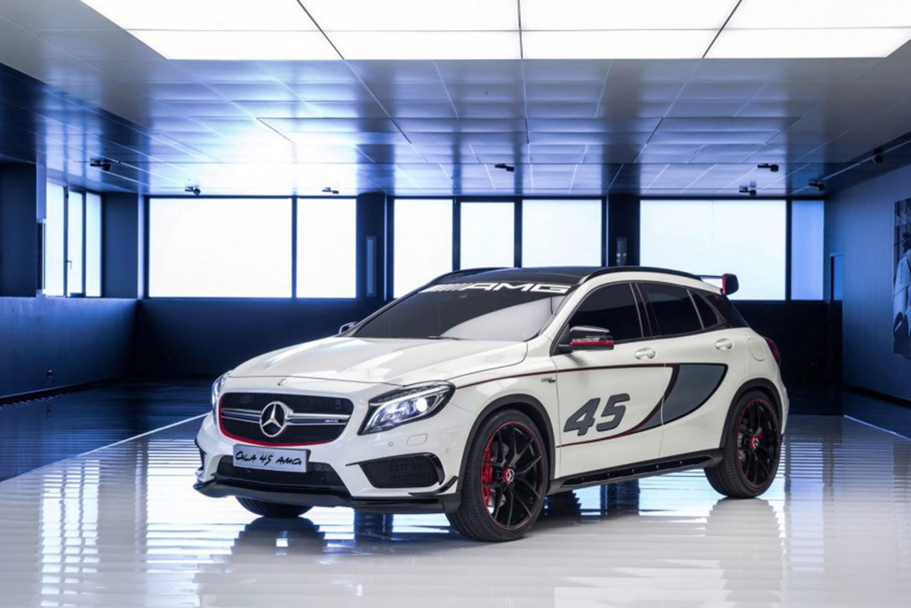 Mercedes GLA nu i AMG-kläder