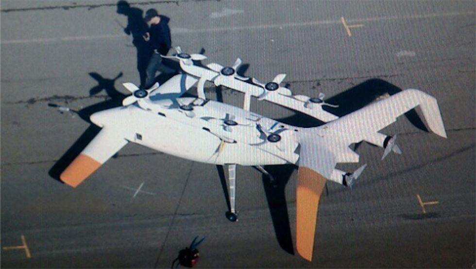 Google bygger en egen flygande bil?