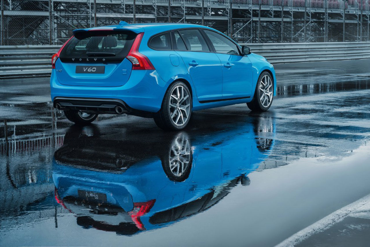 Polestar visar upp sin Volvo V60
