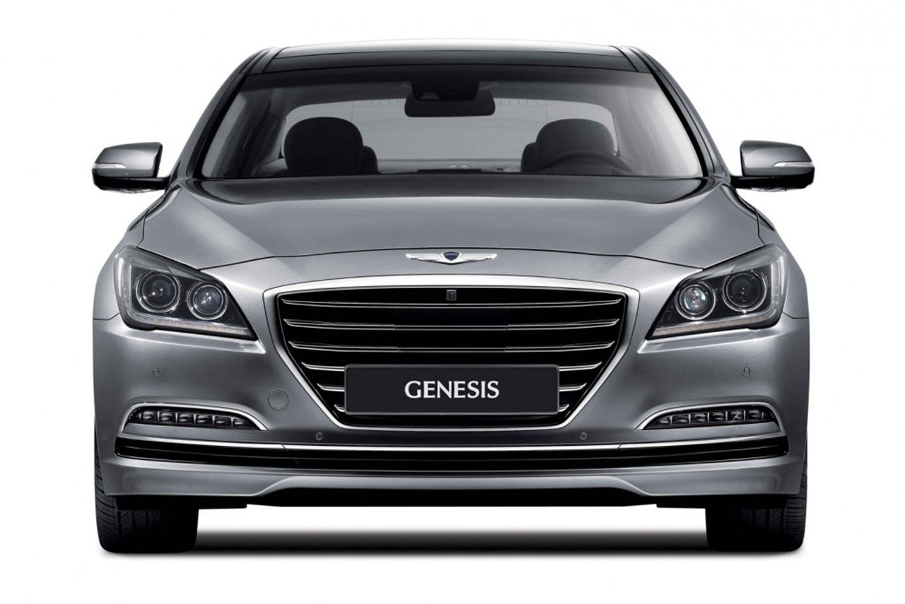 Nya Hyundai Genesis officiell