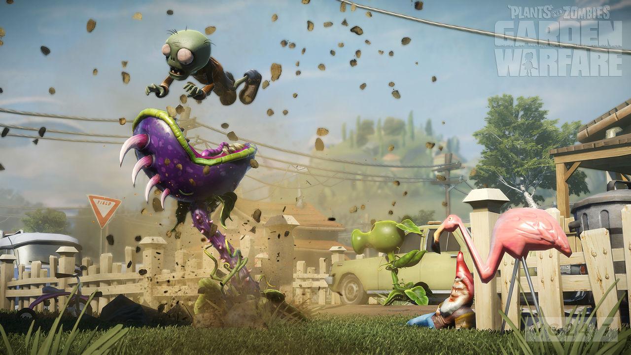Plants vs. Zombies: Garden Warfare listat för PlayStation 4