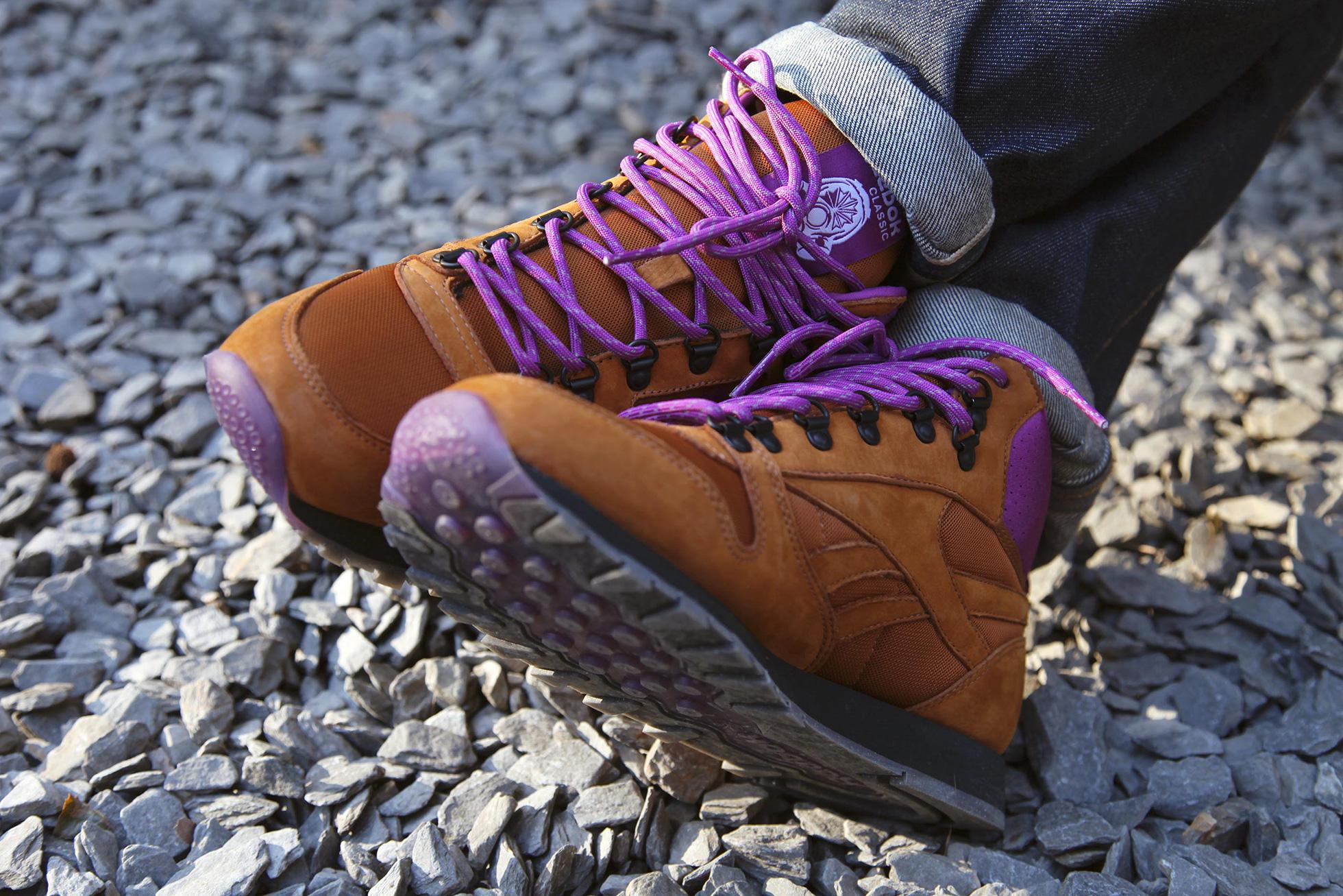 FootPatrol x Reebok Classic Leather Mid