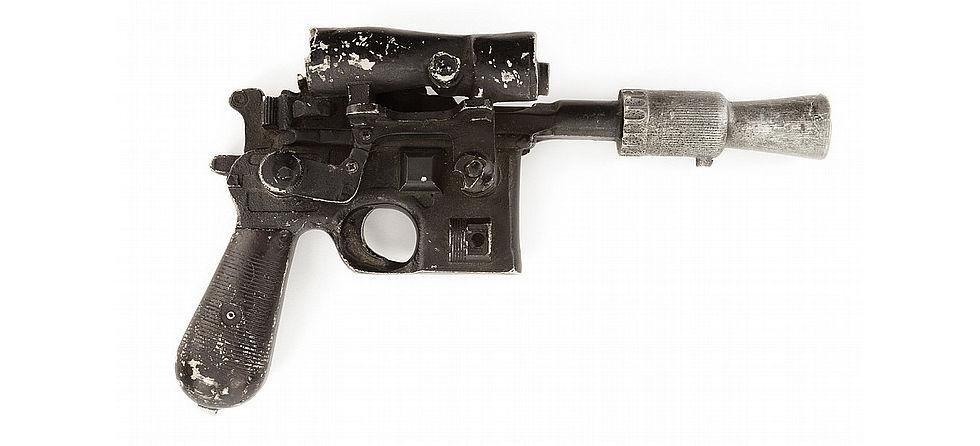 Han Solos pistol går på auktion